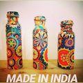 Copper & Stainless Steel Water Bottle -