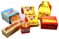 Packaging for snacks and Fast Food -