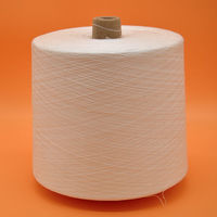 Textile paper cone yarn high quality 100 spun polyester yarn30s/2 -