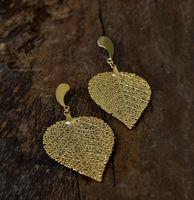 Cerrado Leaf Earring - Drop shaped - M -