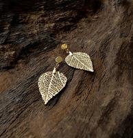 Cerrado Leaf Earring - Drop shaped - S -