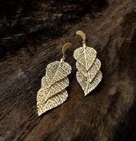 Cerrado Leaf Earring - Three Dops -