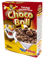 Choco boll (corn ball with chocolate flavor) -