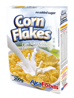 FROSTED FLAKES (CORN FLAKES WITH SUGAR) -