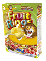 FRUIT LOOPS (CORN RINGS CITRIC FLAVOR) -