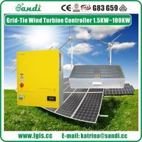 10KW on grid wind turbine controller  with dump load -