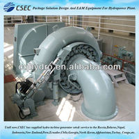 Hydraulic Turbine With Generator & Auxiliary For Small Hydro Power Plant -