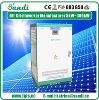 40kw split phase 120/240VAC 60Hz output power off grid inverter with 360VDC input -