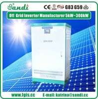 High power 50KW Three-phase 380V wind solar off-grid inverter -