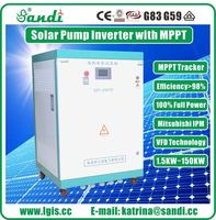 45KW Solar Pump Inverter for agricultural irrigation with MPPT CE Approved -