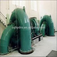 Vertical/Horizontal Small Water Turbine / Hydro Power WaterTurbine / 100kw Francis Turbine/ hydropower Plant -