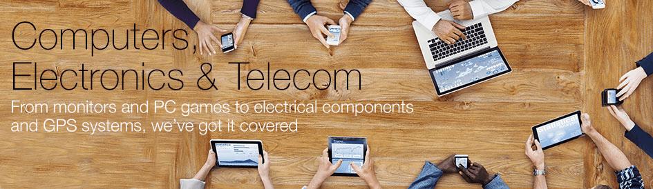 Computers, Electronics & Telecom
