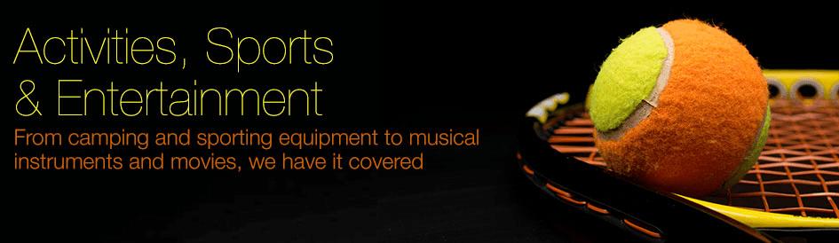 Activities, Sports & Entertainment
