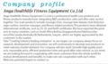 Anga Healthlife Fitness Equipment Co.,Ltd.