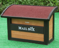 Widely Used Crafted outdoor standing wood mailbox -