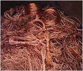 Scrap alambre de cobre