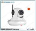 Câmera Ip Sem Fio - Câmera Ip Com Alarme Sem Fio Para Sistema De Alarme De Casa -