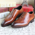 Goodyear Handmade leather shoes for men