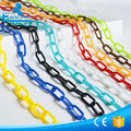 HDPE/PP plastic safety chain for traffic