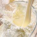 Leche entera, leche en polvo/desnatada