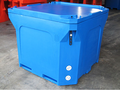 1000Litre Durable Blue Insulated Fish Tub -
