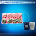 Molde de grau alimentar sílica gel -