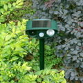 Solar motion sensor Ultrasonic Drive Dog device -