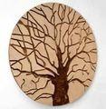 秋天一棵树装饰框架 -