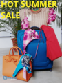 VENTA EXCLUSIVA DE VERANO- PREMIUM BEACHWEAR, BAGS, LUGGAGES
