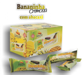 Natural fruit candy - banana with pineapple