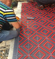 El limpiador de rodamientos alta EVA alfombra es conveniente para la oficina de estación de aeropuerto edificio entrada Mat Eva raspador Mat