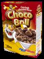 Choco boll (corn ball with chocolate flavor)