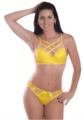 Set Microfiber and Lace Strappy