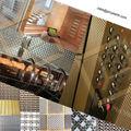 interior facade & room divider material Decorative crimped wire mesh