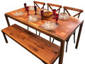 Rustic Dining Table (Patchwork)