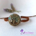 Adjustable woven Orgon bracelet