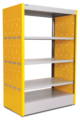 Fenix Kids Double Faced Bookcase - 3FEK206 - Furniture