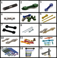 Imperial Fix screws and fixings Special