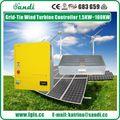10KW no controlador de turbina de vento de grade com despejo carregar -