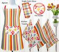 Kitchen Linen - Aprons, Tea Towel, Pot holders, Oven Mitts etc., -