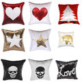 Sequin patterned pillow