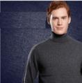 100%羊绒套衫的男人2016秋冬季