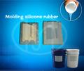 cura de platino RTV de caucho de silicona de moldeo