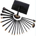 21-piece Bernard temptation cosmetic brush - black bag -
