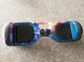 6.5 pulgadas doble ruedas inteligente equilibrio eléctrico auto hijos adultos dos rueda pensamiento todoterreno moto de camuflaje