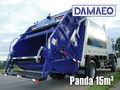 Recolección de basura compactador-Panda-Damaeq