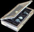 Porta relogio poli wood -
