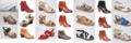 Zapatos o calzado de cuero vacuno natural y productos de cuero varios -