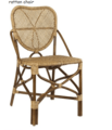 RATTAN CHAIR FELIPPA PARISINA