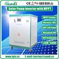 Three phase solar dc to ac solar pump inverter for agriculture -